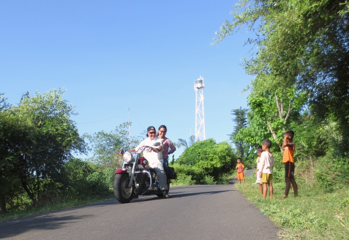 Amed's Eastern Coastal Road ride, Bali