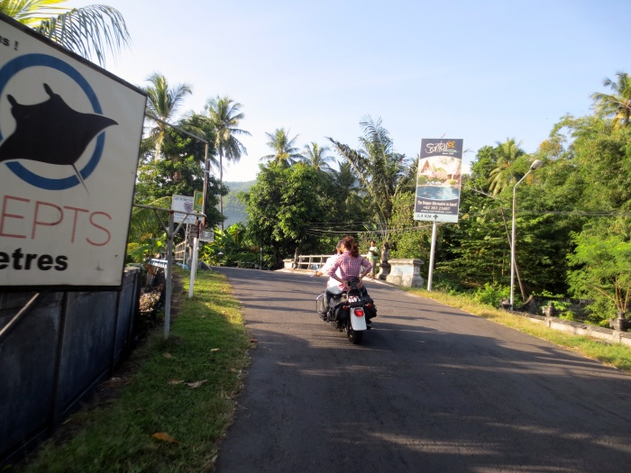 Amed's eastern costal road ride, Bali