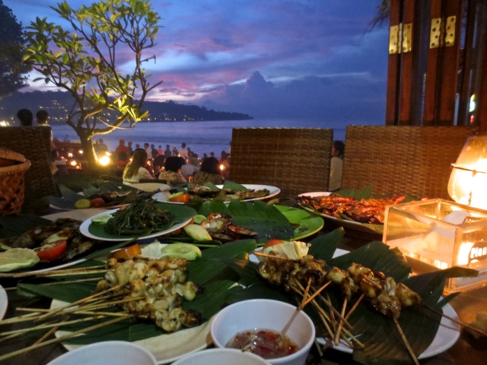 Sunset Dinner on the Sand at Jimbaran Bay