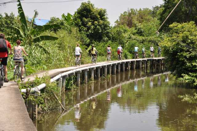 "Bangkok: ""Bangkok Discovery And Adventure"" Bicycle, Boat & Train Tour"
