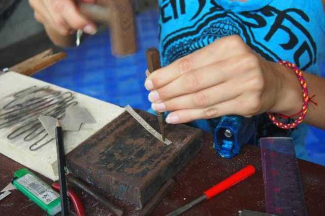 Krabi: Silver Jewelry Making Workshop