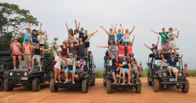 Koh Samui : Jungle Jeep Safari Tour