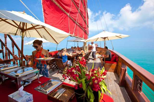 Koh Samui : Brunch Cruise To Koh Phangan Island
