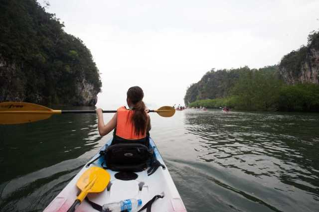Krabi: Kayaking Experience To Ban Bor Thor Village