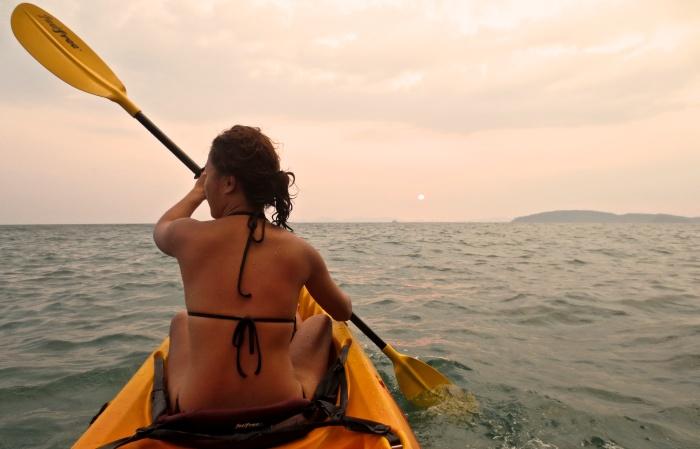 Kayaking - Krabi - Ao Nang Beach - Thailand - eOasia 1776