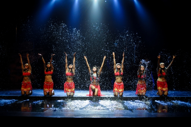 Borneo_Dancing water. Devdan Show at the Bali Nusa Dua Theatre.