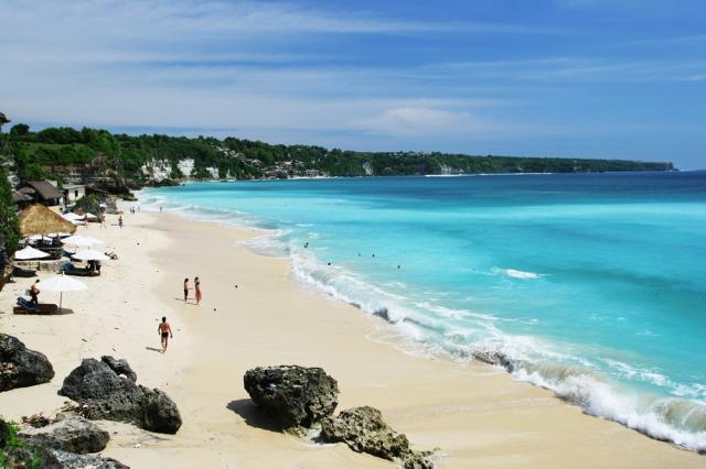 Dreamland Beach. The best beaches of the Bukit Peninsula.