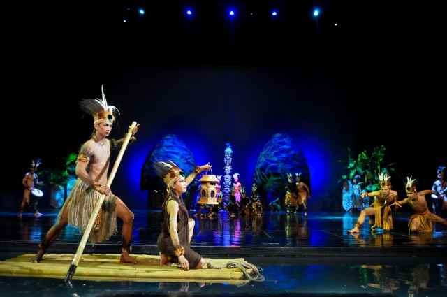 Papua. Devdan Show At Nusa Dua Theatre.