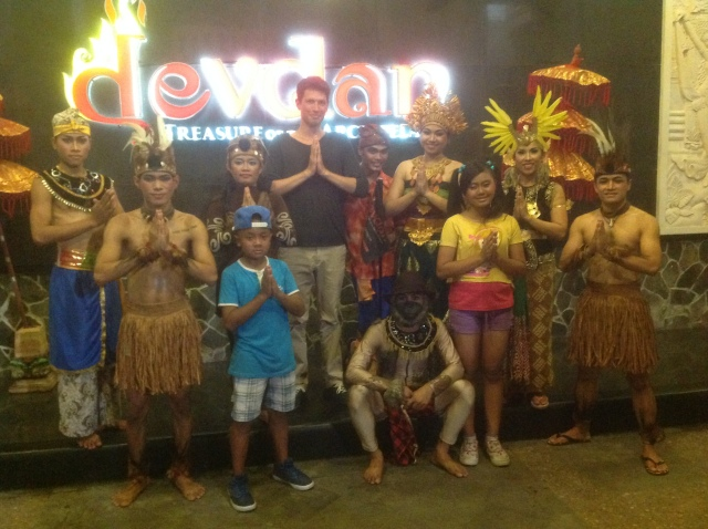 Devdan Show At Nusa Dua Theatre