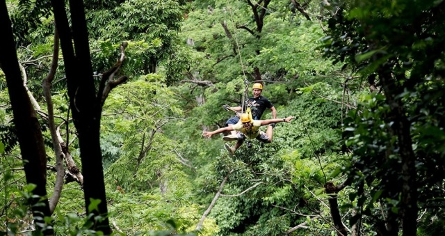 Things To Do in Phuket. Zipline adventure in Kathu.