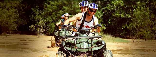 Things To Do in Phuket. ATV Tour and elephant trekking.