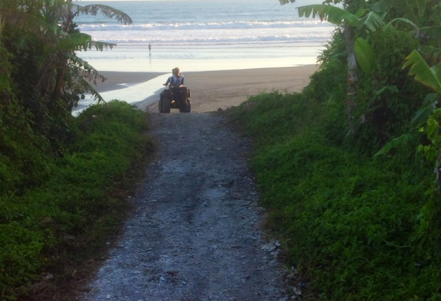 ATV_Quad Riding Experience At Yeh Gangga Beach, Bali.
