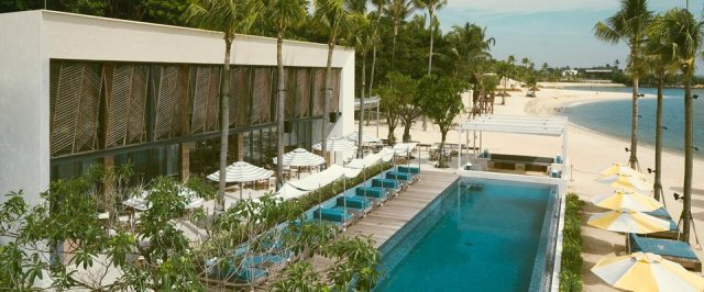 Tanjong Beach Club in Sentosa. Top 10 things to Do in Singapore