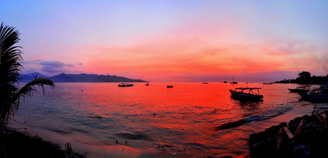 Sunset, Things to do in Gili Air. Picture by El Efante