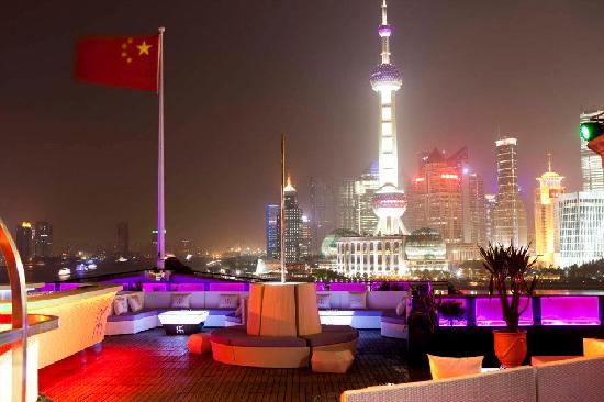 Bar rouge - Shanghai