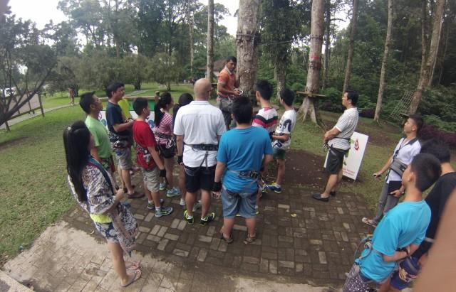 The Treetop and Zipline Adventure Park, Bali.