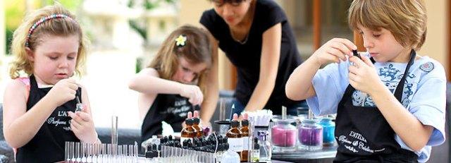 Perfume workshop for children. Top 10 Things to Do with Kids in Bali.