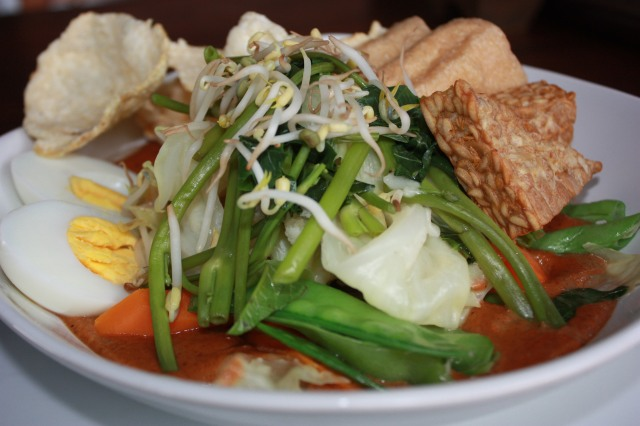 Gado Gado, Java. Top 10 best Indonesian food.