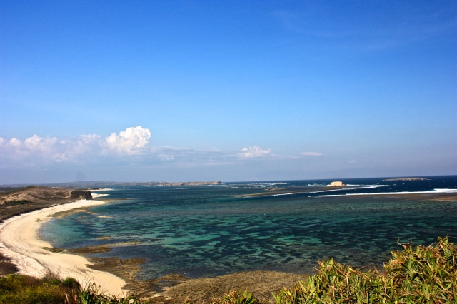 Ekas Bay, a Surf paradise in Lombok.