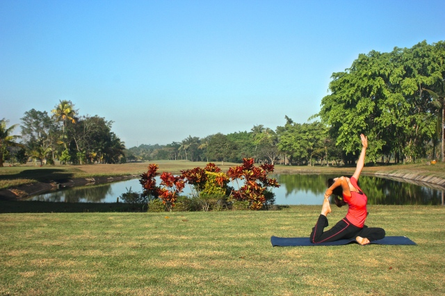 Golf & Yoga Evasion at the Rinjani Golf of Lombok