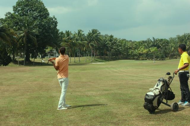 Golf & Yoga Evasion at the Rinjani Golf of Lombok