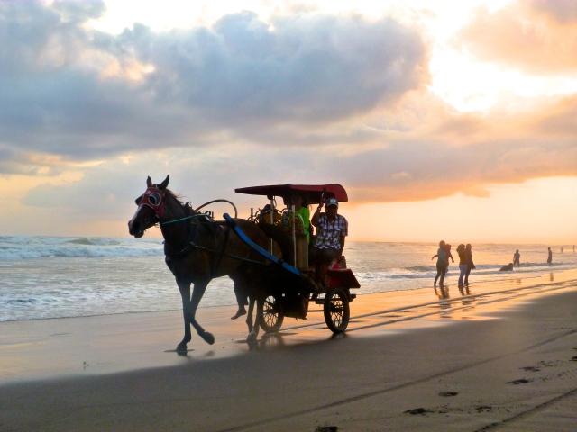 Parangritis beach - Yogyakarta.
